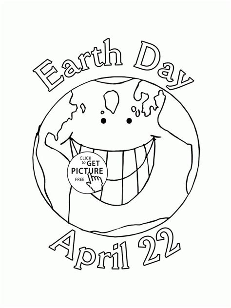 Collection Of Top 20 Free Printable Earth Day Coloring Pages Online