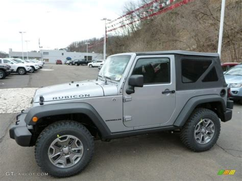 jeep rubicon silver 2013 billet silver metallic jeep wrangler rubicon 4x4