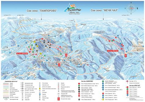 resort bulgaria map porovo piste map free downloadable piste maps