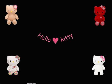 wallpaper hello kitty black and white black hello kitty backgrounds wallpaper cave