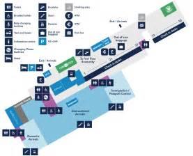 bristol airport map ground floor map bristol airport