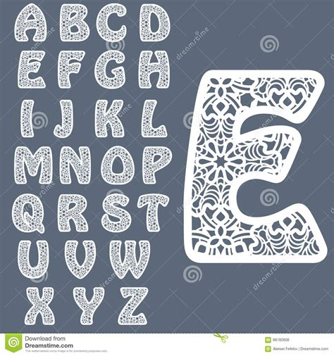 fancy alphabet letter templates templates for cutting out letters alphabet may be used for laser cutting fancy