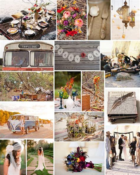 gypsy wedding ideas themed thursday bohemian rhapsody intertwined weddings