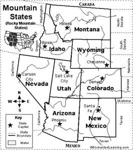 map of us states and capitals quiz