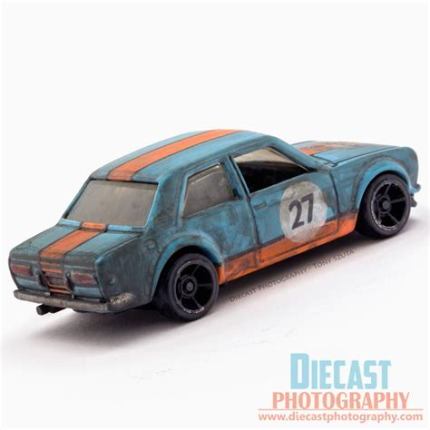 Hotwheels Datsun custom wheels datsun bluebird 510 gulf livery