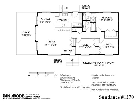 Barratt Homes Floor Plans by Pan Abode