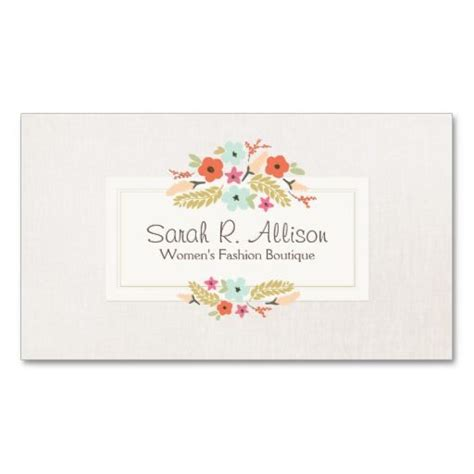 Feminine Business Card Template by 1000 Images About Feminine Business Cards On