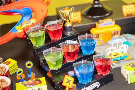 hot party themes 2015 kara s party ideas jello cups from a hot wheels car