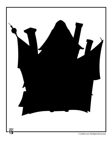 haunted house halloween template woo jr kids activities