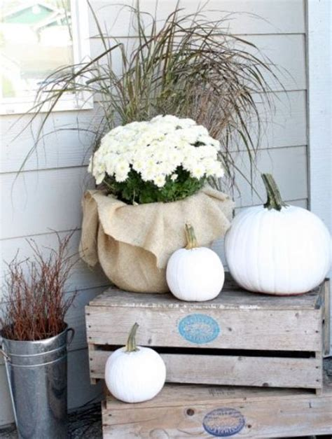 chic neutral fall decor ideas youll  digsdigs