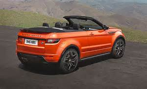 land rover new car new car debrief range rover evoque convertible car