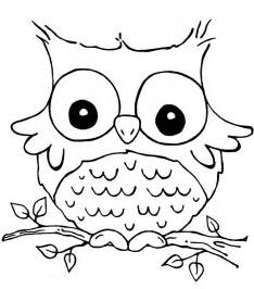 pictures of owls to color coloring page of an owl coloring home