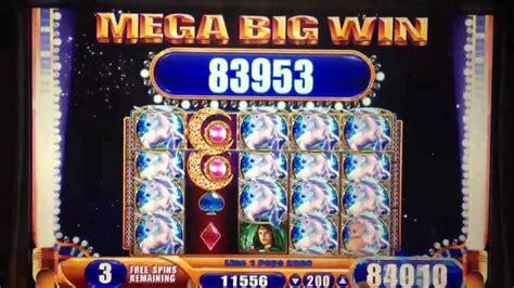 wms mystical unicorn slot machine mega win youtube