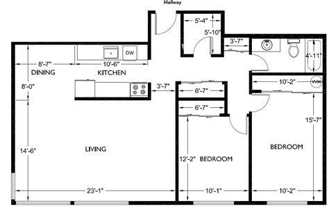 free floor plans for houses corner house floorplans 2 bedroom 1 bathroom 187 alliance