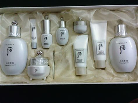 Whoo Seol Whitening Gift Set Isi 3 history of whoo whitening 3 pcs gift set review glam radar