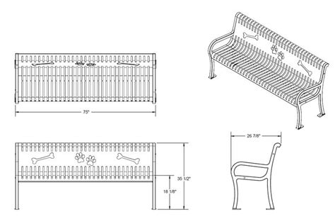 dimensions of a park bench park bench size images