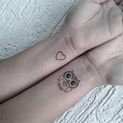 small tattoo outline 50 small owl tattoos collection