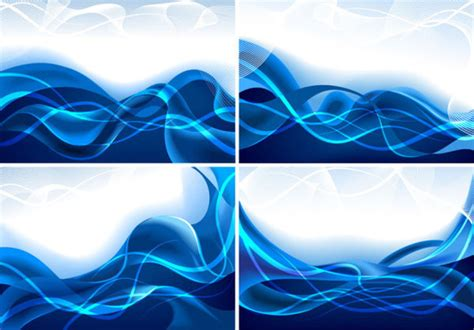 wallpaper ombak biru free vector blue line background free vector download