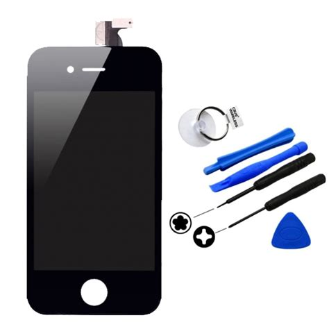 Lcd Hp Iphone 4 iphone 4 screen replacement kit original lcd digitizer touch screen at t black a1332