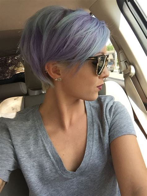 first pixie cut 24 dyed hairstyles you need to try short pixie pastel