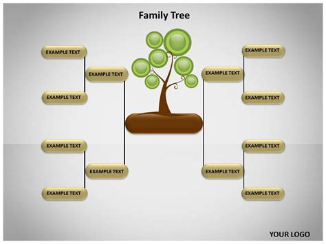 10 Best Images Of Family Tree Powerpoint Template Free Family Tree Template Powerpoint Blank Genealogy Powerpoint Template