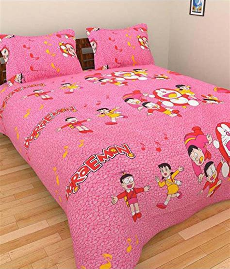 double bed sheets bharti bedsheet cotton double bedsheet with 2 pillow cover