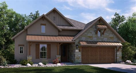 Texas House Plans by Contemporary Hill Country House Plans