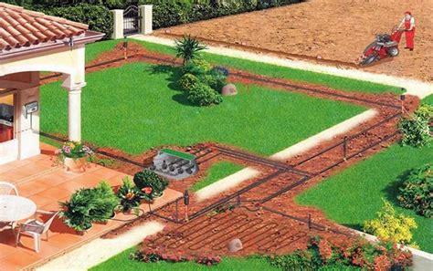 sistemi di irrigazione per giardini irrigazione interrata consigli giardino