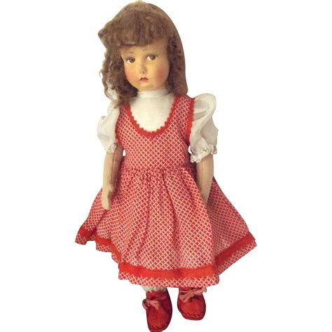 what is a lenci doll lenci type felt doll from fhtv on ruby