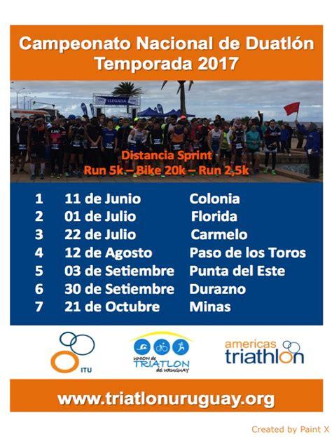 ceonato de duathlon 2017 union de triatlon uruguay