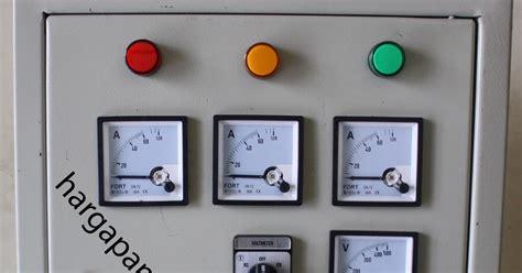 Saklar Untuk Genset panel listrik dengan harga murah panel mdp panel pompa