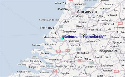 rotterdam netherlands on map rotterdam netherlands tide station location guide