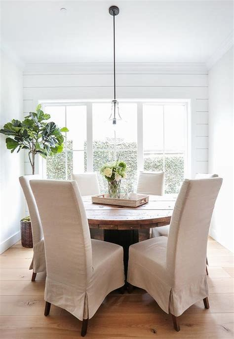 breakfast room table and chairs linen dining chairs design ideas