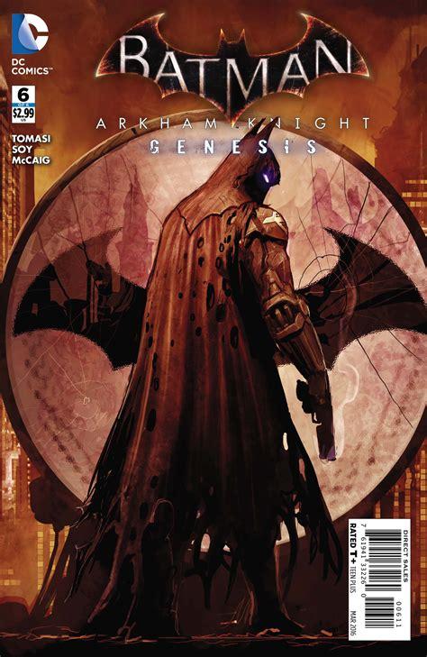 Batman Arkham World nov150252 batman arkham genesis 6 previews world