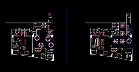 plano de muebles oficina en autocad cad  kb