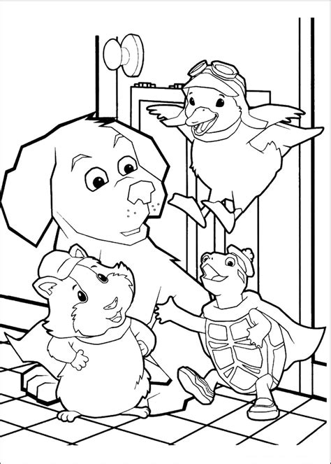 pets coloring pages