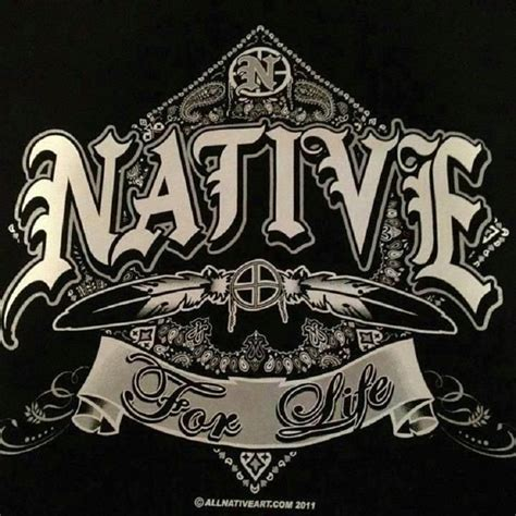 native pride tattoos pride my blood