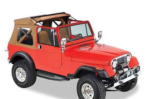 97 Jeep Wrangler Top Bestop Sunrider Soft Tops 97 02 Jeep Wrangler Tj