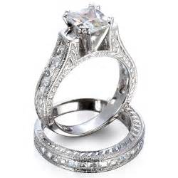 wedding rings sets for wedding rings sets gold engagement ring sets bridal set at weddingringreviews