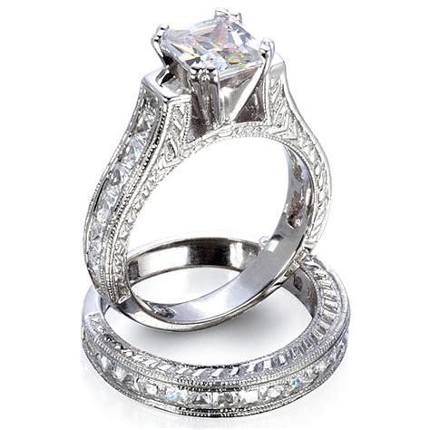wedding rings sets gold engagement ring sets bridal set