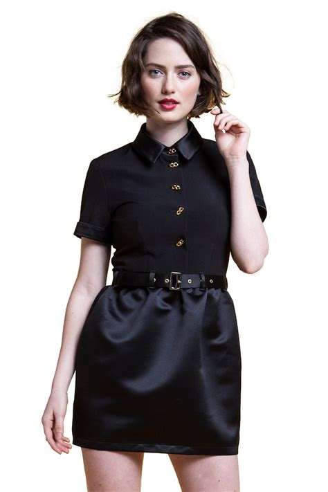 Sale Blouse Import 20915 Black Flower Sleeve S M L ida sjostedt sleeve satin shirt dress from pigalle by cancan shoptiques