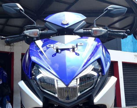 Lu Led Motor Warna Biru pilihan warna spesifikasi dan harga yamaha aerox 125 lc