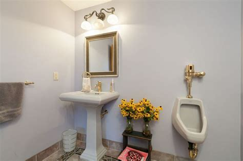 home bathroom with urinal the home urinal 7 houses that let you stand in the bathroom realtor com 174