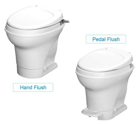 How To Use A Thetford Toilet by Thetford Aqua Magic V Rv Toilet Hand Flush High Profile