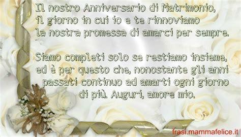 promesse di matrimonio testo frase auguri anniversario matrimonio amarsi per sempre