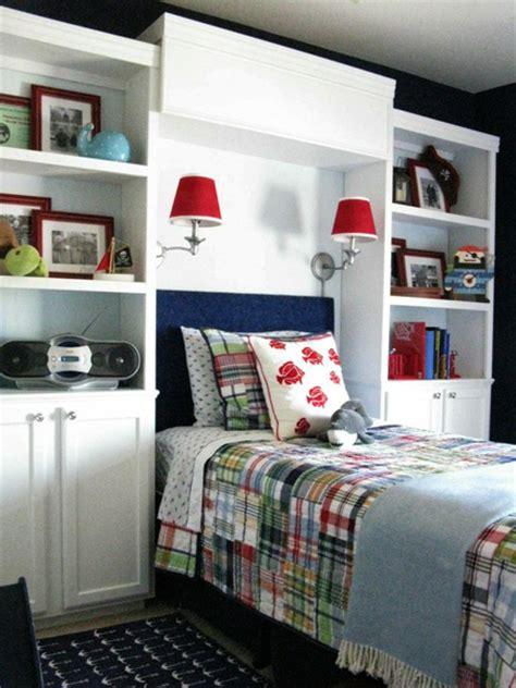 boys bedroom storage ideas home dzine bedrooms storage ideas around the headboard