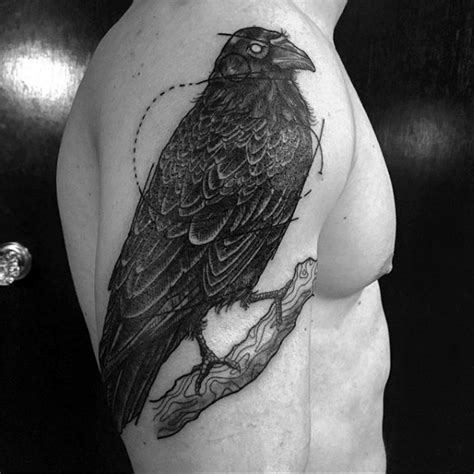 crow tattoos for men 100 designs for black bird ink ideas
