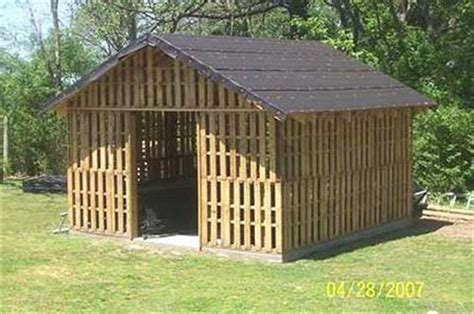 Storage Shed Made From Pallets wood pallet storage shed pallets designs