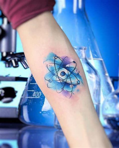 atomo dibujo tatoo 25 melhores ideias sobre tatuagem de qu 237 mica no pinterest