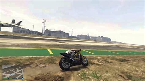Motorrad Online Youtube by Gta V Online Motorrad Vs Hydra Youtube